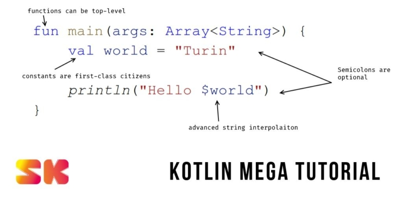 Kotlin Mega Tutorial - SuperKotlin